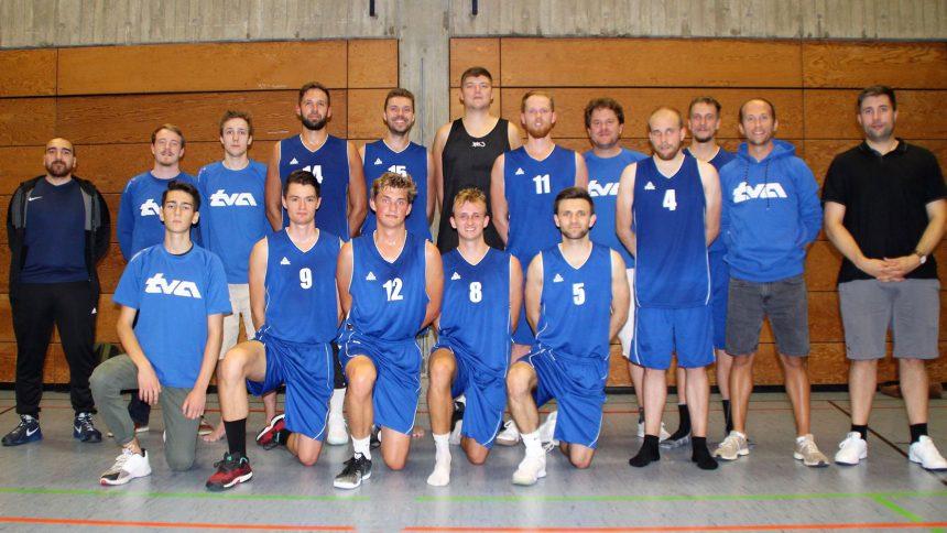 Mannschaftsfoto Herren 2 TV Augsburg Basketball